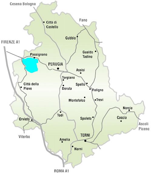 Assisi Cartina Umbria.Umbria Peace And Good Things